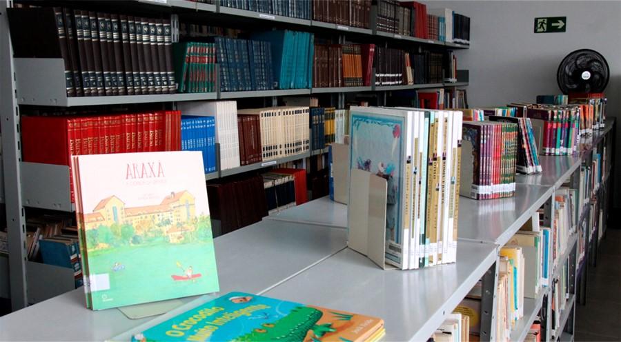 Biblioteca Municipal Viriato Correa - divulgaçao Prefeitura de Araxá1