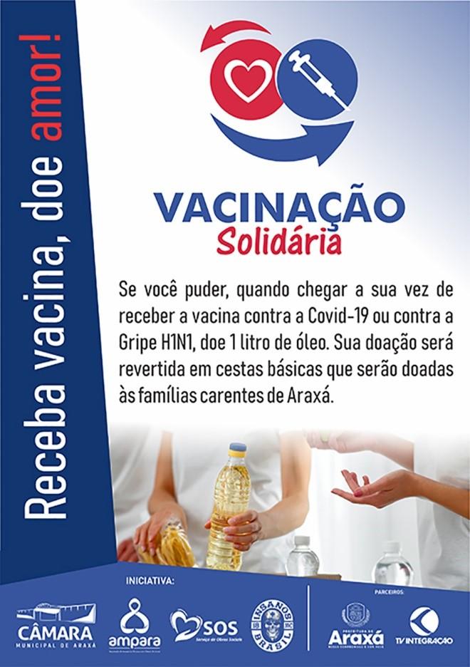 banner vacinacao solidária